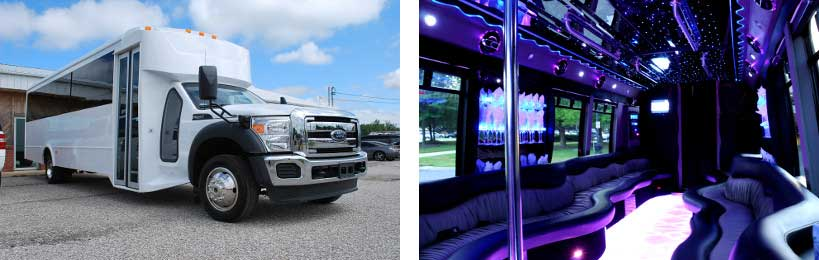20 passenger party bus Madisonville