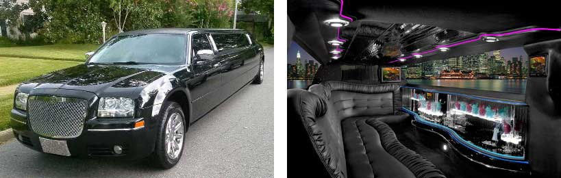chrysler limo rental Rome