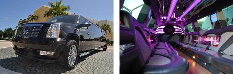 escalade limo service Long Beach