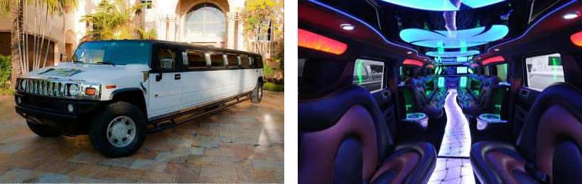 hummer limo service St Winchester