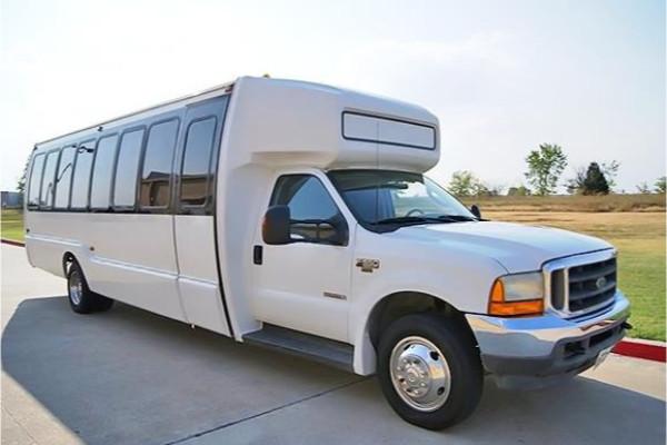 20 passenger shuttle bus rental Madisonville
