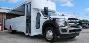30 passenger bus rental Georgetown
