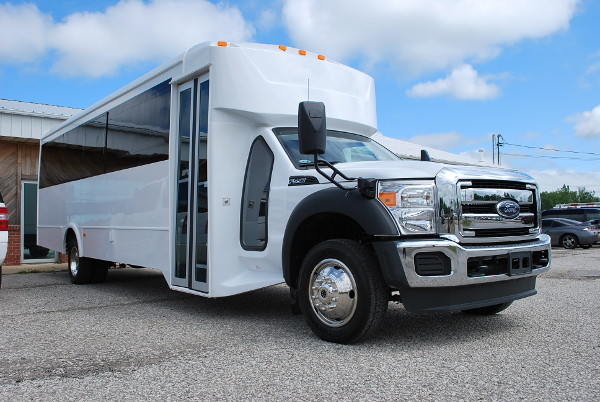 30 passenger bus rental Independence