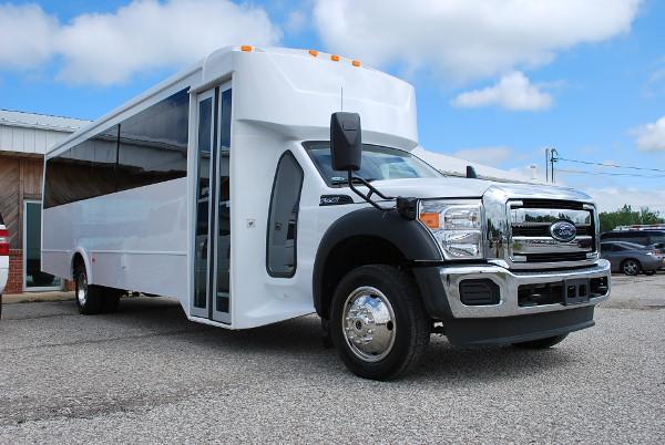 30 passenger bus rental Madisonville