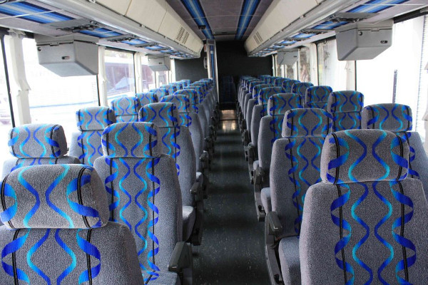 30 person shuttle bus rental Madisonville