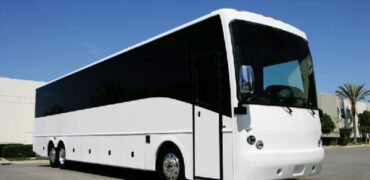 40 passenger charter bus rental Frankfort