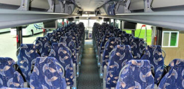 40 person charter bus Independence