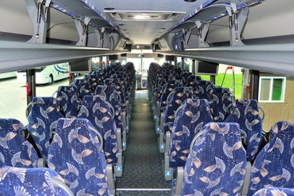 40 person charter bus Madisonville