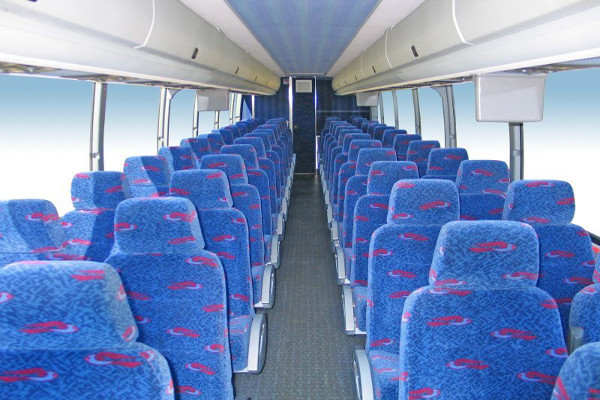 50 person charter bus rental Frankfort