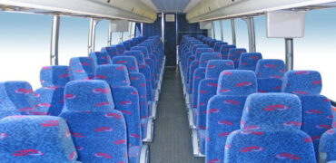 50 person charter bus rental Madisonville