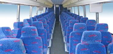 50 person charter bus rental Richmond